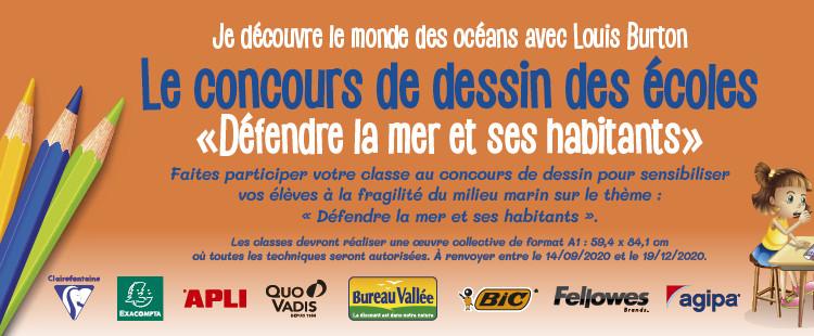 Banner CONCOURS DESSIN ECOLE-2020-avec sponsors